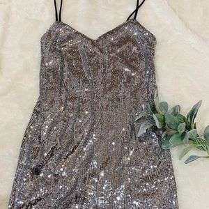 Sequin Dress by Wild Fable sz S